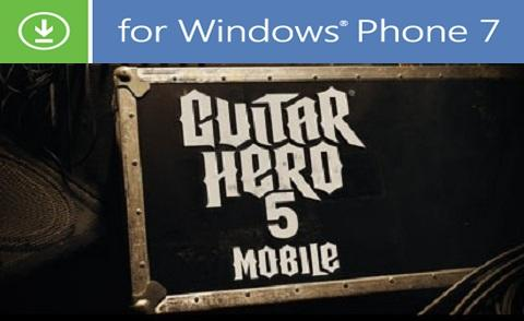 Guitar Hero 5 chega ao Windows Phone 7