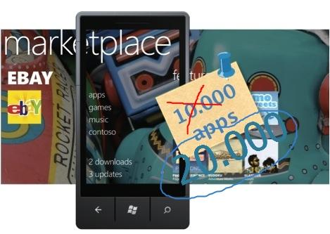 Marketplace alcança a marca de 20.000 aplicativos para Windows Phone
