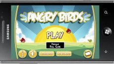 Angry Birds chega a Marketplace para Windows Phone 7