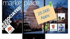 Marketplace atinge a marca de 25.000 Apps para Windows Phone 7