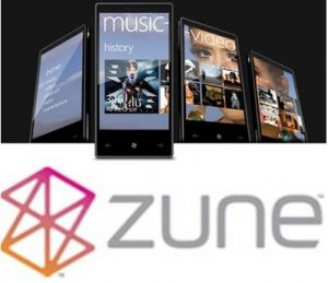 Zune windows phone sincronismo