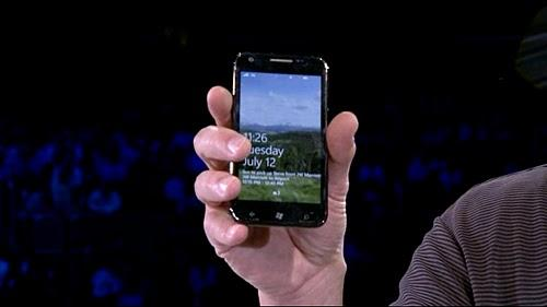 Novo Samsung i937 com Windows Phone 7