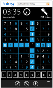 Sudoku Windows-Phone-7 game