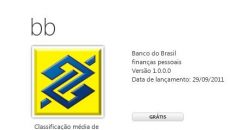 Aplicativo oficial do Banco do Brasil disponível na Marketplace para o Windows Phone