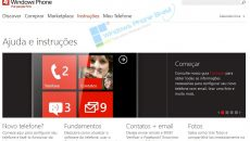 Microsoft atualiza site do Windows Phone para o Brasil