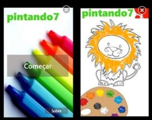 pintando7 windows phone telas