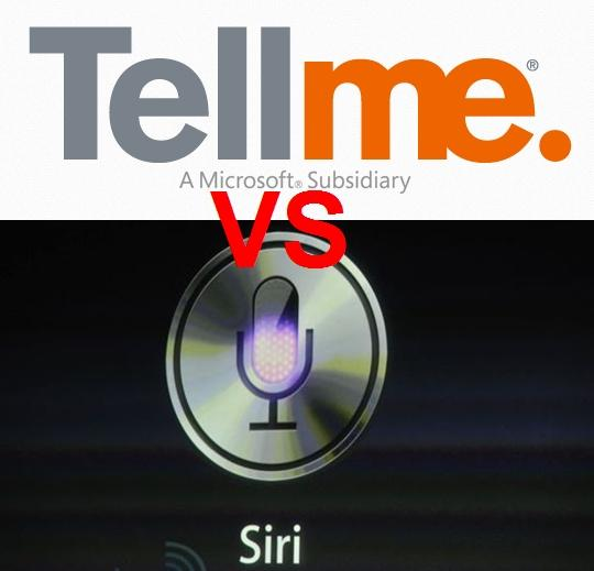 siri apple iphone vs tell me microsoft windows phone