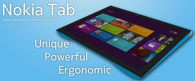 nokia tablet com windows 8