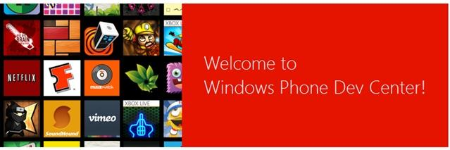 dev center novo portal desenvolvedores windows phone