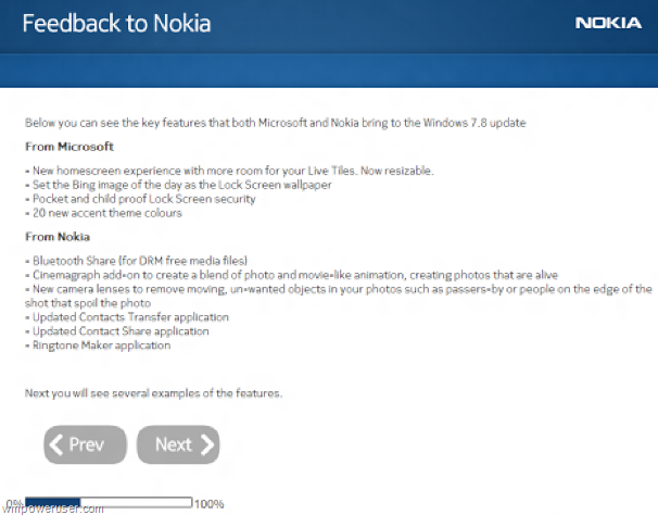 novas funcoes oficias do windows phone 78 nokia feedback