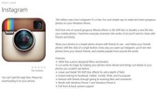 [Rumor] Imagem do Instagram na Windows Phone Store levanta suspeitas