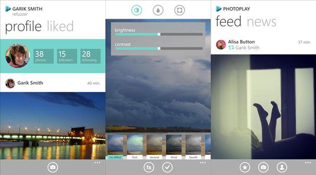 photoplay concorrente instagram windows phone