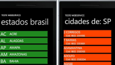 [Desenvolvimento] Webservices: Como consumir dados usando o Windows Phone