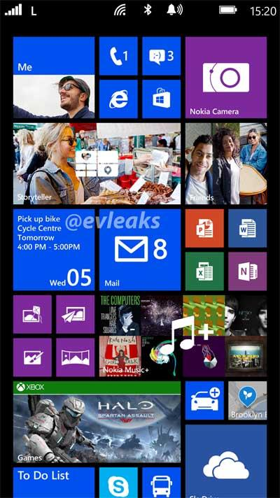 Nokia Lumia 1050 print screen GDR3