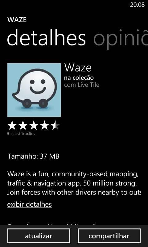 waze beta windows phone app