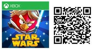 angry birds star wars windows phone jogo qr code