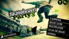 Chega a Windows Phone Store o jogo Skateboard Party 2