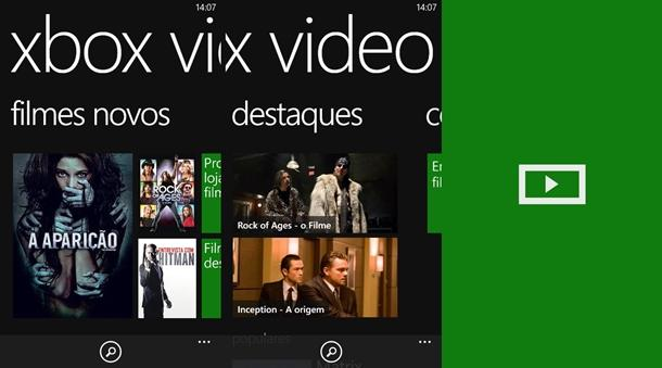 Xbox video windows phone app oficial
