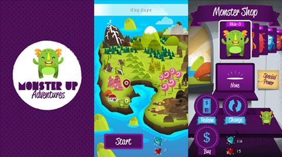 MonsterUp Adventura jogo windows phone