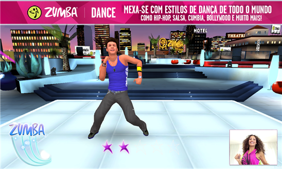 zumba dance jogo windows phone img1