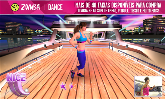 zumba dance jogo windows phone img3