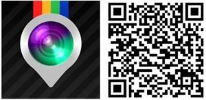 Instaplace app windows phone Qr code