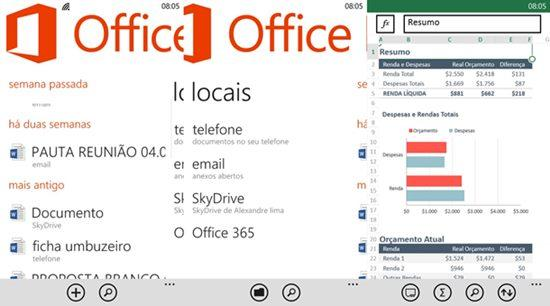 office windows phone 81 apps