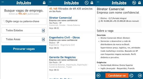 infojobs app windows phone oficial