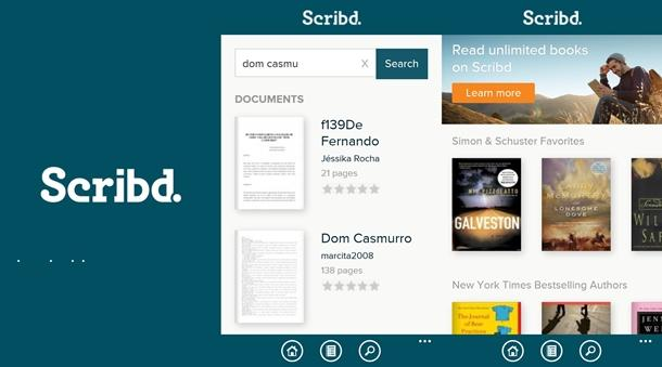 scribd app windows phone