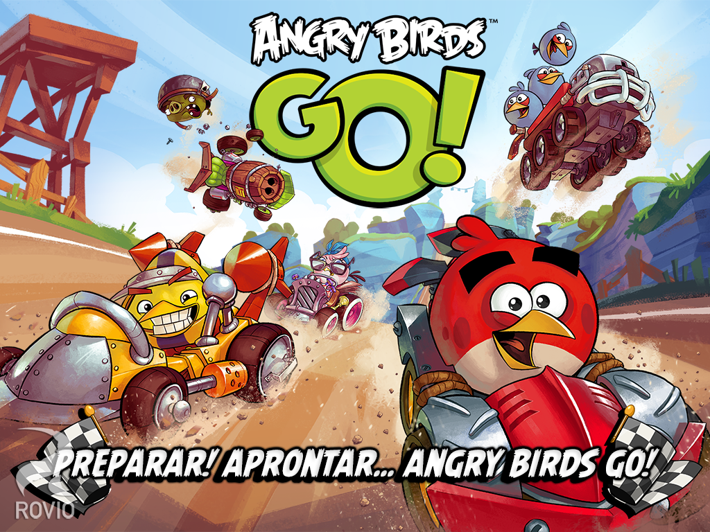 angry birds go jogo windows phone rovio