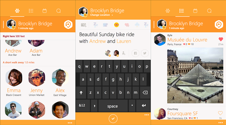swarm app oficial windows phone