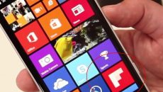 Live Tile com o ícone do app Flipboard aparece em vídeo Hands-on do Lumia 830 na IFA 2014