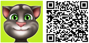 my talking tom windows phone qr code