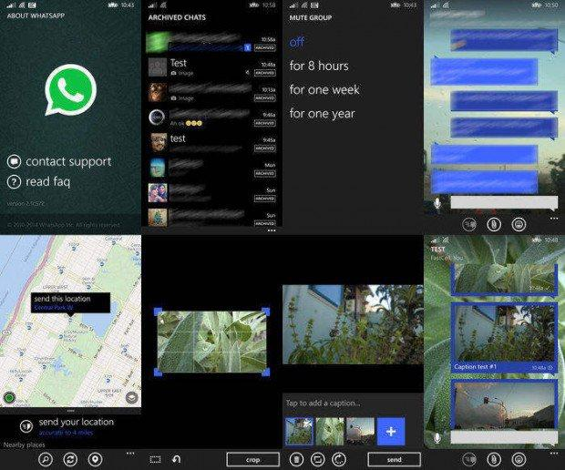 whatsapp windows phone nova funcionalidades