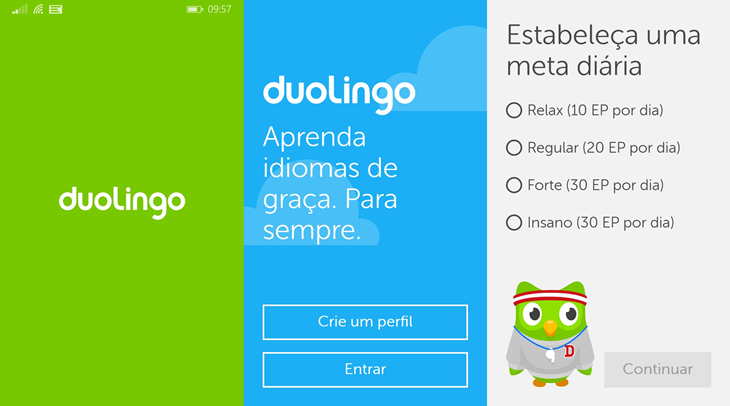 duolingo app windows phone 1