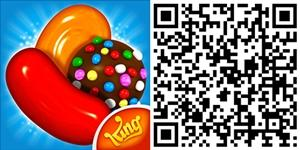 candy crush saga qrcode
