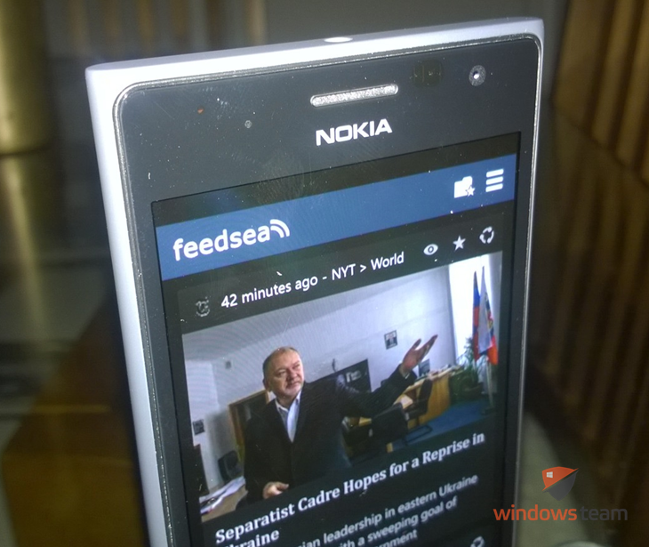 feedsea windows phone header