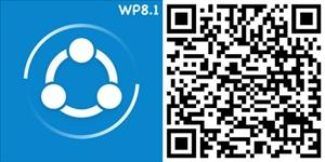 shareit windows phone qrcode