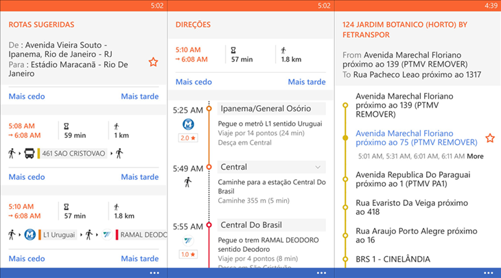 moovit windows phone