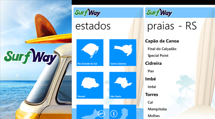 surfway windows phone
