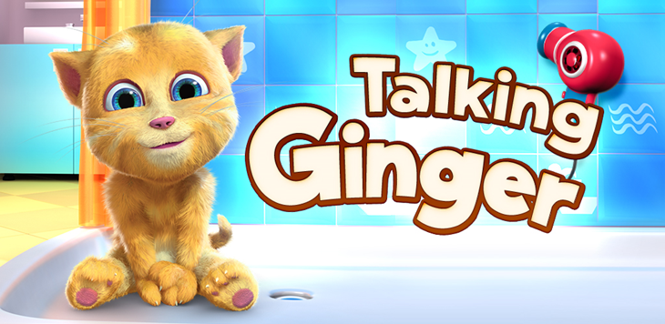 Chegou o popular jogo Talking Ginger na Windows Phone Store