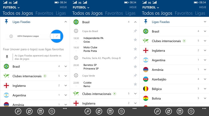 sofascore windows phone img1