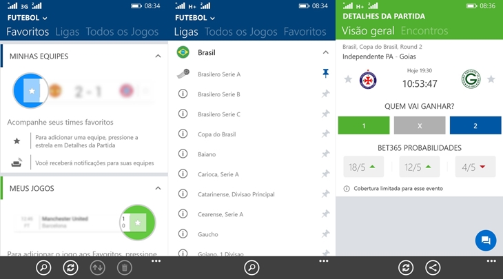 sofascore windows phone img2