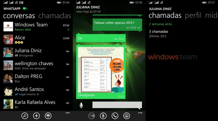 whatsapp beta windows phone