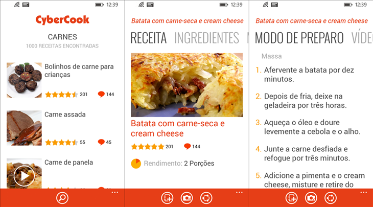 cybercook windows phone
