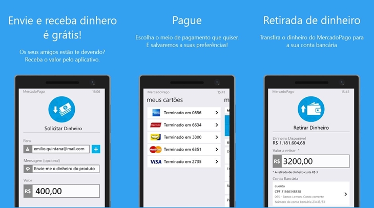mercadopago windows phone app