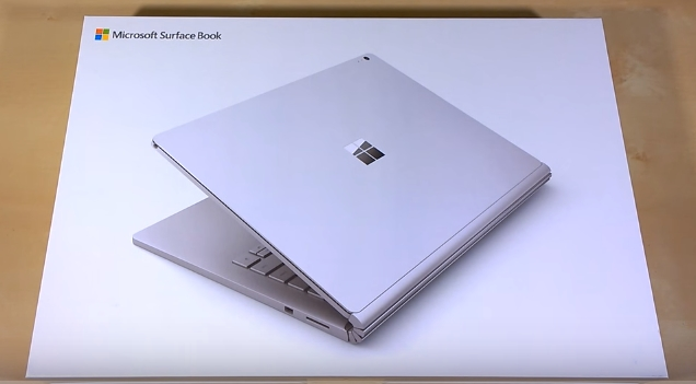 Surface Book unboxing