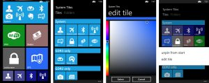 System Tiles - Windows Team