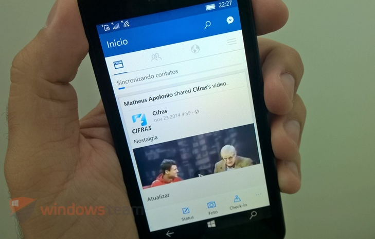 facebook beta windows 10 mobile