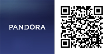 Pandora Windows 10 Mobile qrcode-horz